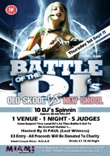 Highland battle of the DJs